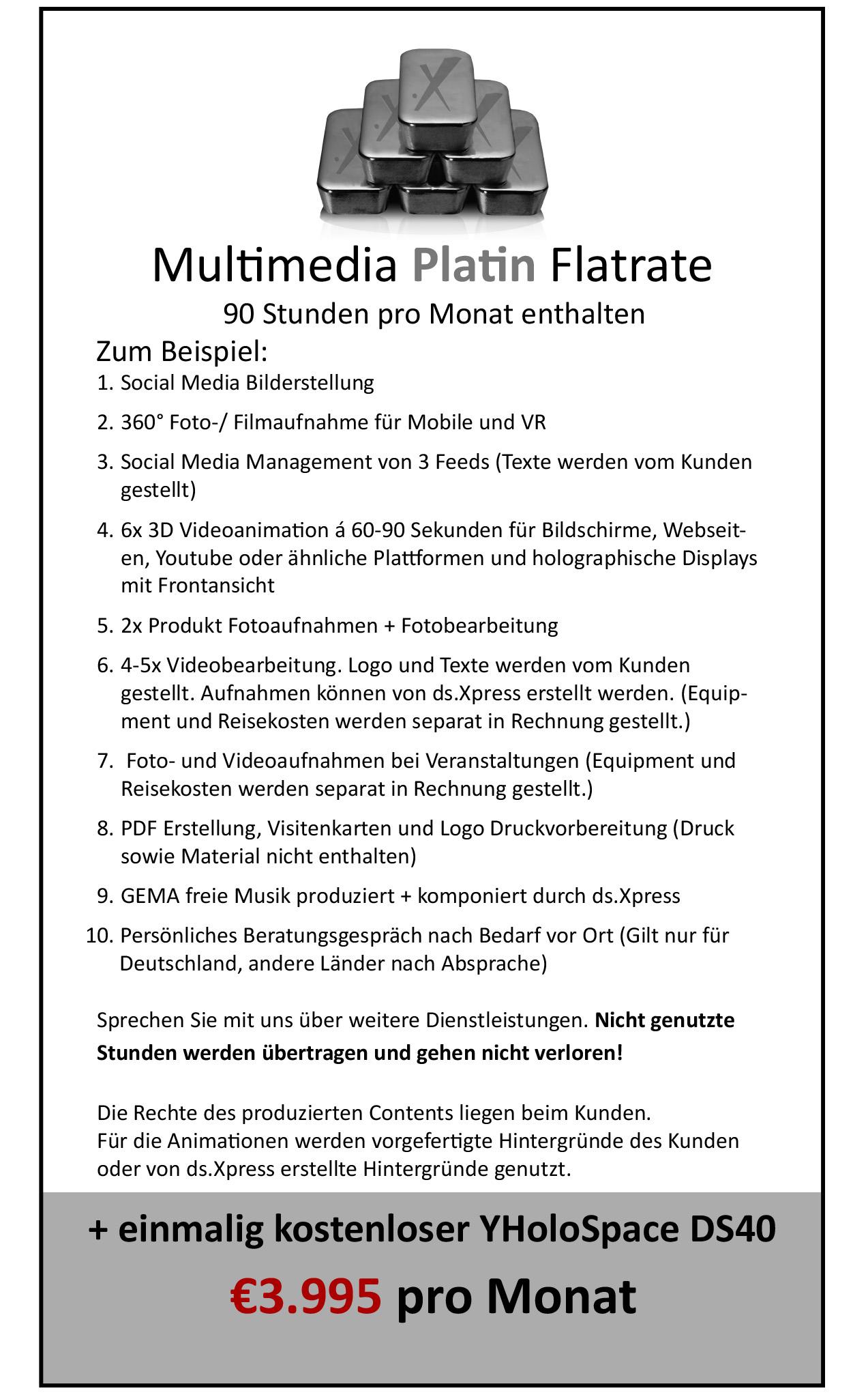 Multimedia Flatrate Platin01
